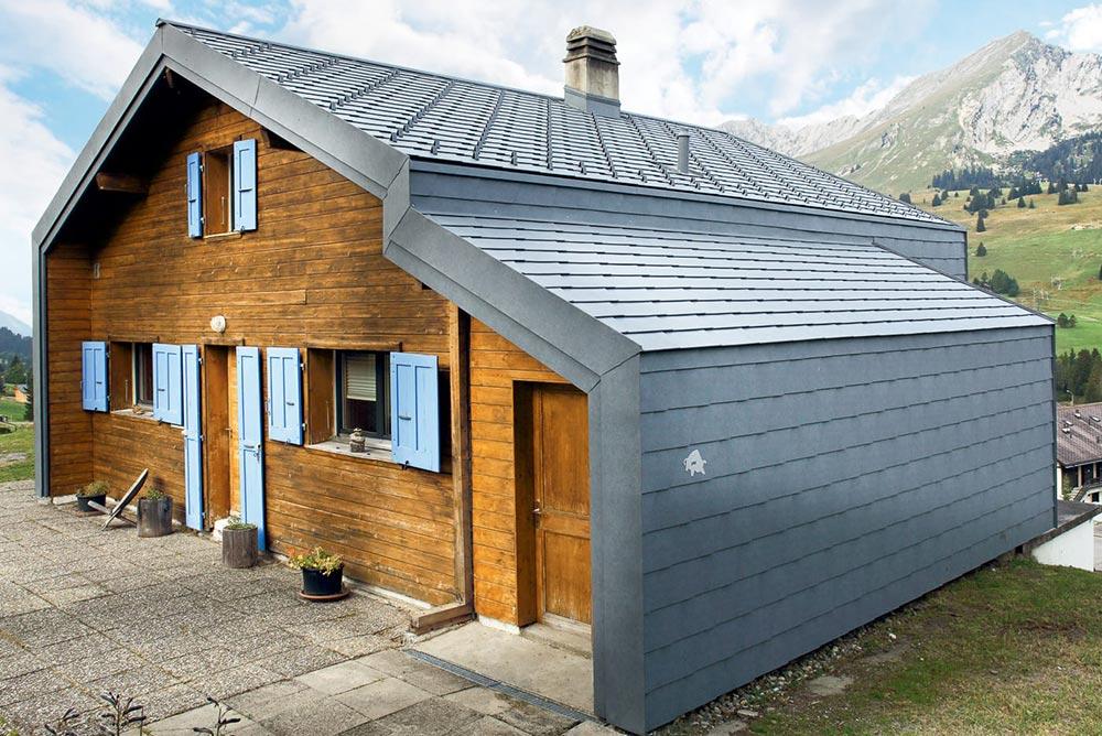 PREFA Dachschindel © PREFA | Croce & Wir