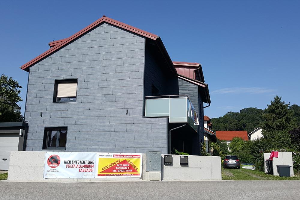 Fassade, Wohnhaus Ernsthofen