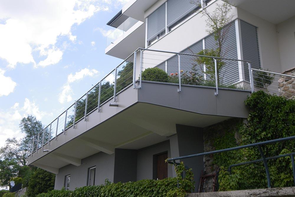 Fassadenverkleidung, Wohnhaus Linz