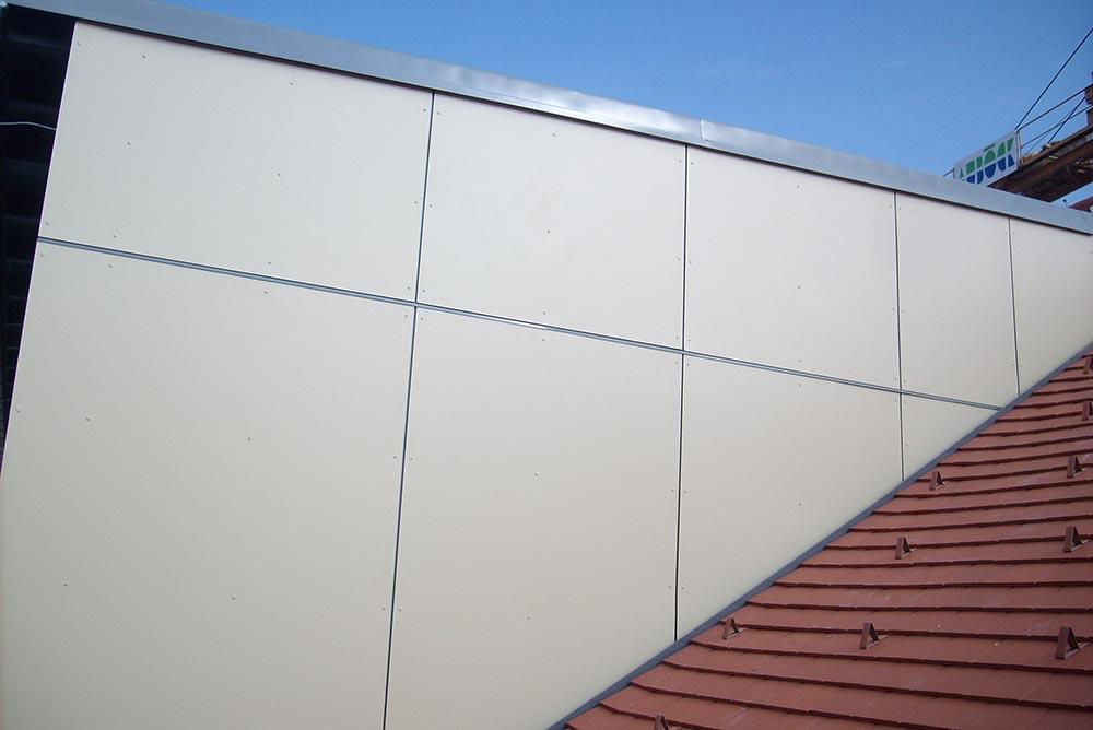 Fassade, Kommunalbau Enns
