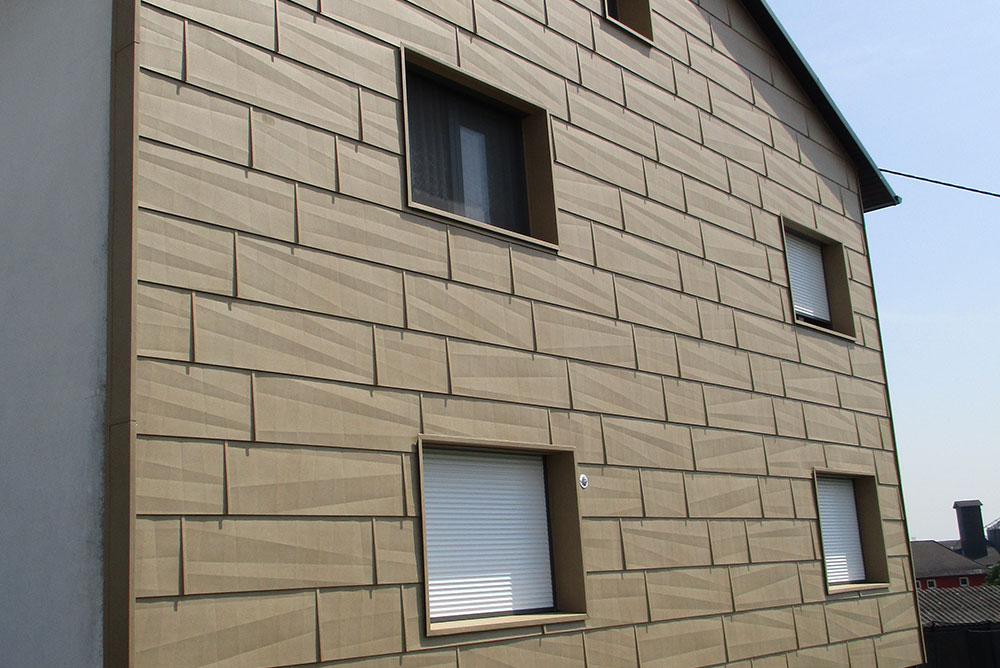 Fassade, Wohnhaus Luftenberg