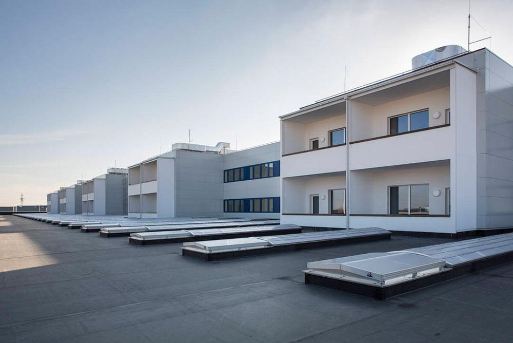Flachdach, Wohnhaus Linz