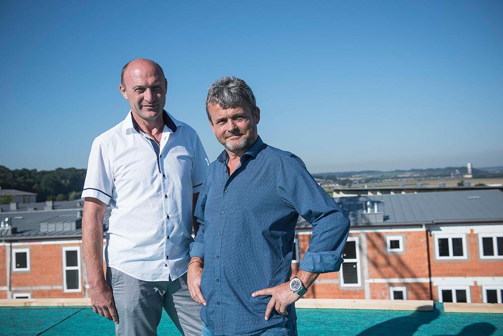 Richard Reischl und Martin Grillnberger